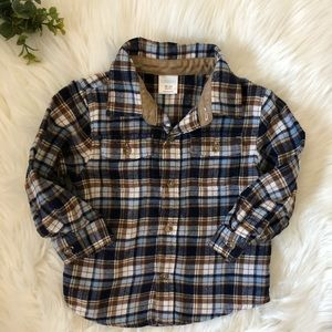 GYMBOREE flannel shirt